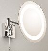 Astro Lighting 0356 Genova Illuminated Magnified Vanity Mirror