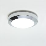 Astro Dakota Plus 180 Polished Chrome Ceiling Light