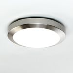 Astro Lighting 0674 Dakota 300 Brushed Nickel Ceiling Light