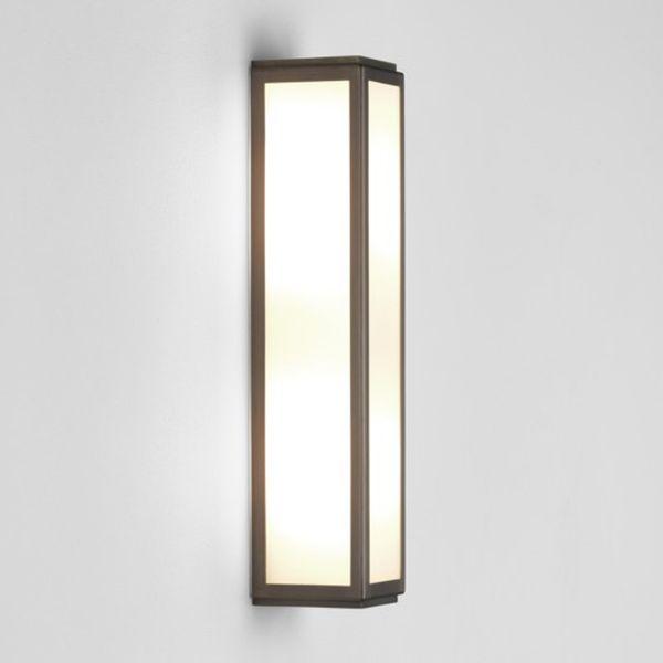 Led Bathroom Centre Light astro 7958 mashiko 360 led bp| bronze plated led bathroom light