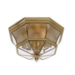 Elstead Newbury QZ/NEWBURY/F Solid Brass Ceiling Light