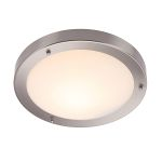 Endon Portico 12421 Brushed Chrome Wall/Ceiling Light