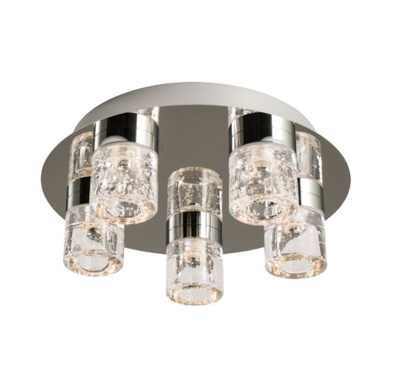 Led Bathroom Centre Light endon imperial led 5 light 61358| led bathroom lighting| bathroom