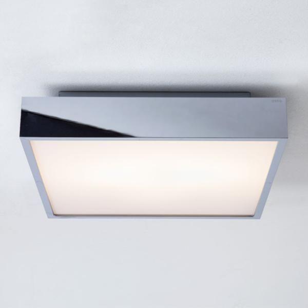 Led Bathroom Centre Light astro taketa 0821 polished chrome square bathroom, bathroom