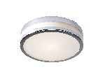 Dar Cyro Large Polished Chrome Ceiling Light