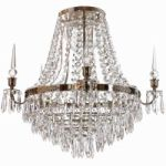 Krebs Nobel 493 Nickel Chandelier