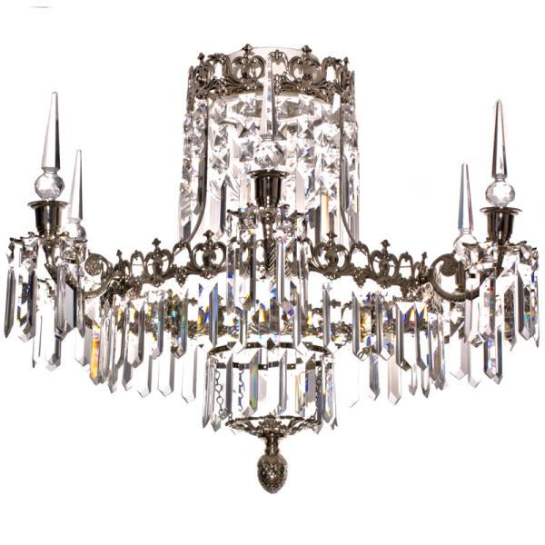 Tapper luxury crystal bathroom chandelier - Bathroom crystal chandelier ...