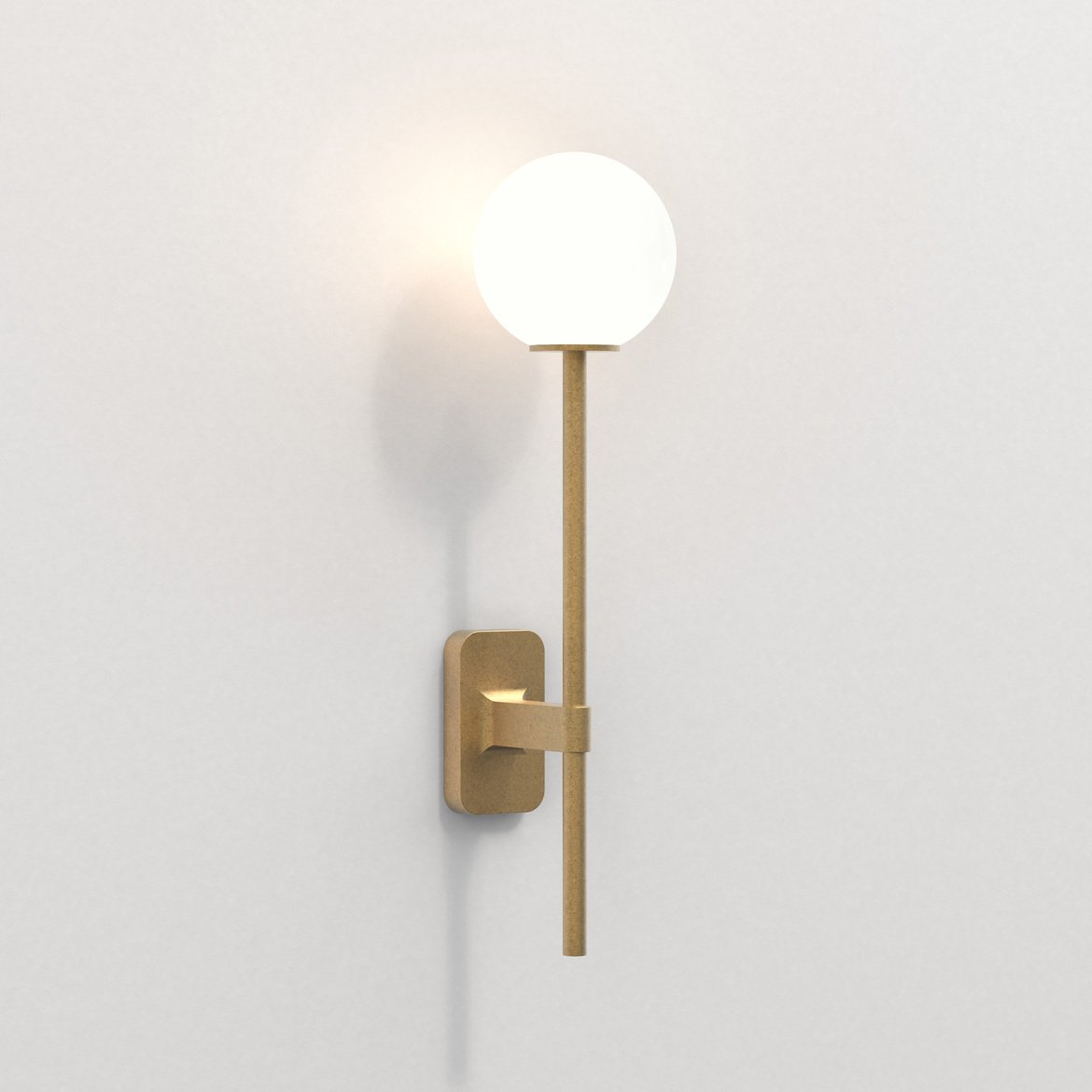 Astro Lighting 1429009 Tacoma Single Grande Brass Wall Light
