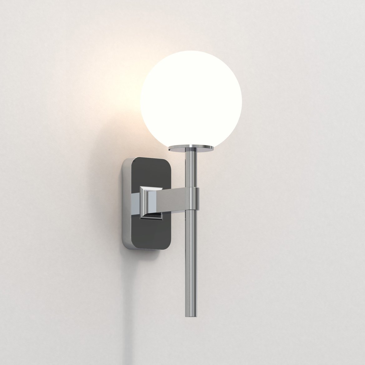 Astro Lighting 1429001 Tacoma Single Polished Chrome Wall Light