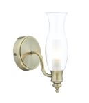 Dar Vestry Wall Light Antique Brass