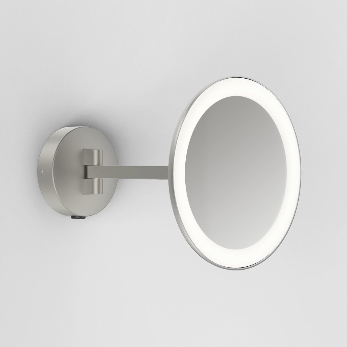Astro Lighting 1373006 Mascali Round Nickel LED Vanity Mirror
