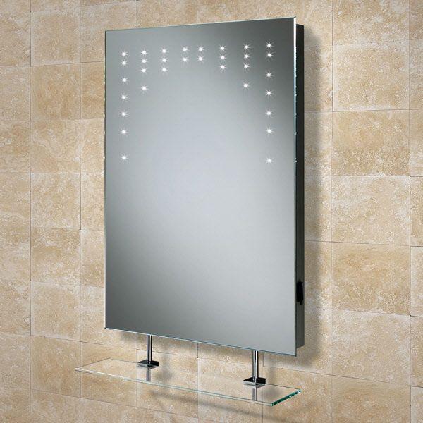 Hib Rain 73105200 Bathroom Led Mirror Shaver Socket